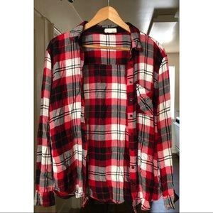 Garage Red/Black/White Flannel!
